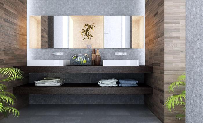 Mijn badkamer studio picobello - Mooie moderne badkamer ...